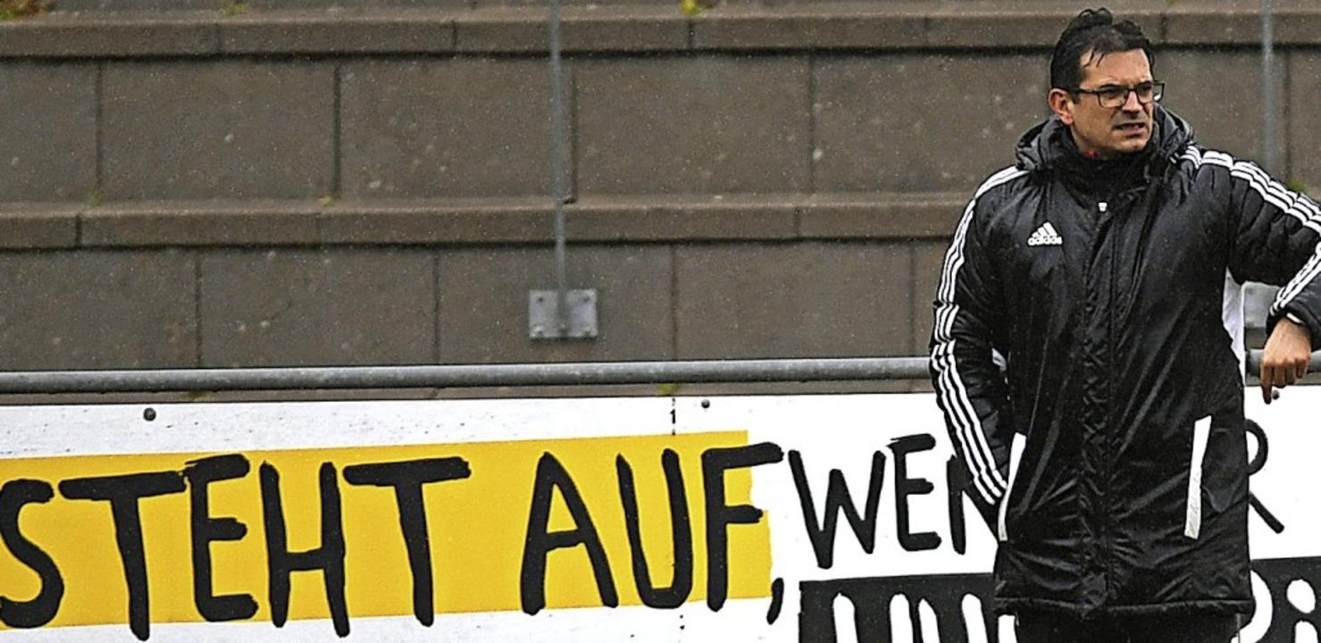 <BZ-FotoAnlauf>Landesliga:</BZ-FotoAnl...gen gegen den VfR Hausen fehlen wird.   | Foto: Patrick Seeger