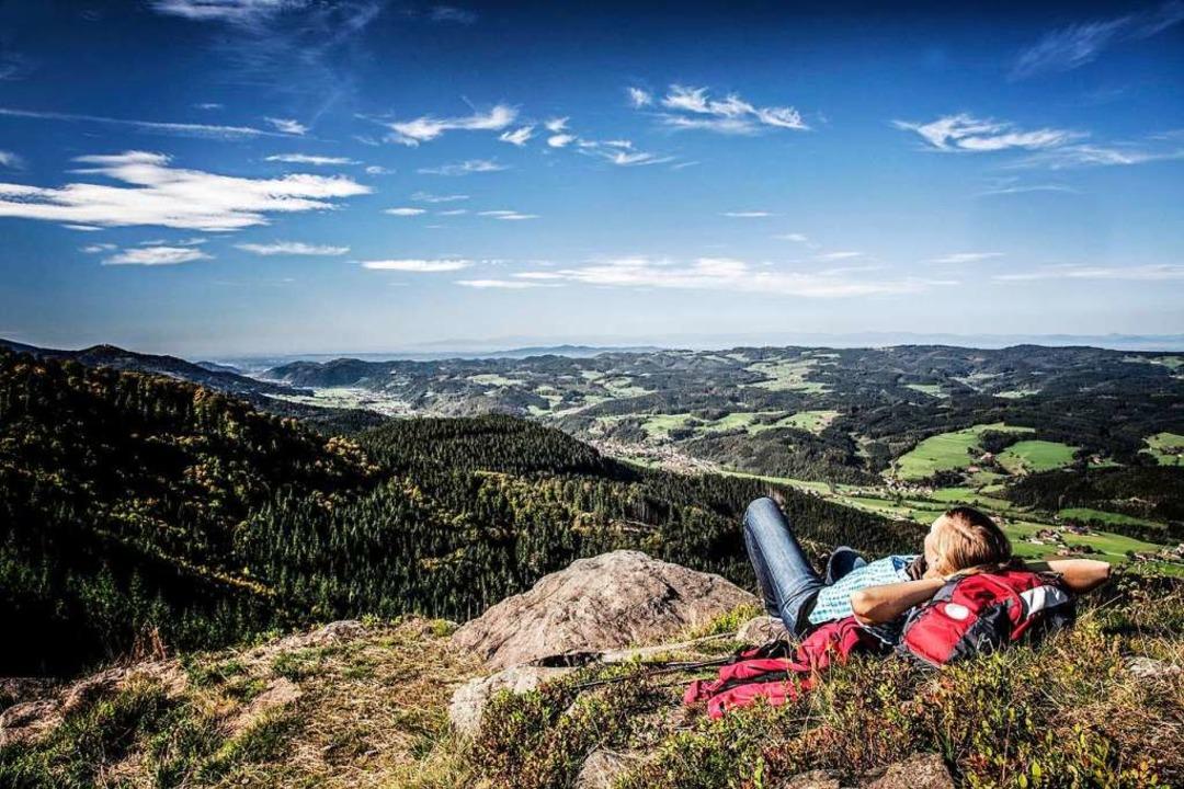 Weitblicke auf dem  Zweitälersteig.  | Foto: Clemens Emmler