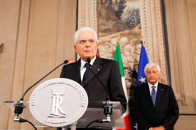 Regierungssuche in Italien: Fünf Sterne treffen Sozialdemokraten