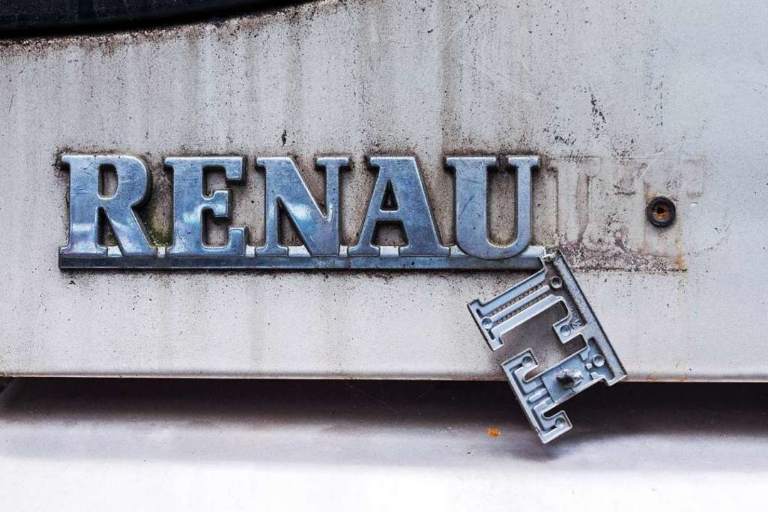 War es ein Renault-Fan? Oder ein Renault-Hasser?  | Foto: Jens Büttner