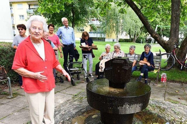 Ohne diese Frau gäbe es das Margaretenbrünnele in Freiburg nicht