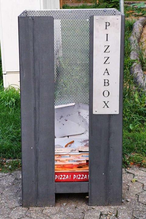 Die Pizzabox in der Waldkircher Schlettstattallee  | Foto: Patrik Müller