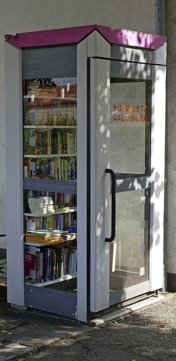 Die Haltinger Bücherkiste     Foto: Ulrich Senf