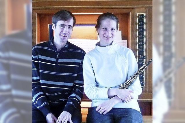 Julia und Johannes Frankhauser, Musik für Oboe und Orgel