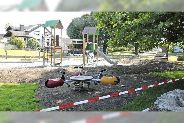 Spielplatz in Forststraße wird aufgemöbelt