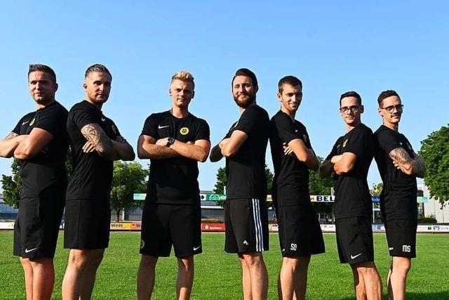 Beim Fußball-Landesligisten SC Wyhl spielen vier Zwillingspaare in einer Mannschaft