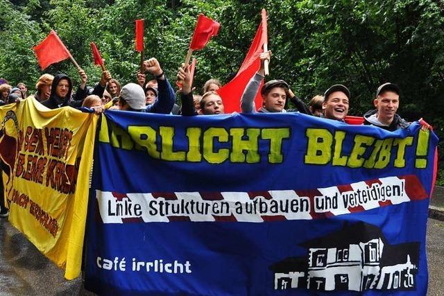 Das linke Café Irrlicht in Schopfheim feiert sein 35-jähriges Bestehen mit Kaffee und Kuchen
