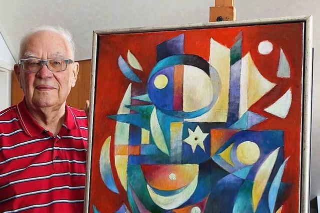 Zum 90. Geburtstag startet eine Ausstellung von Waldemar Dinkat