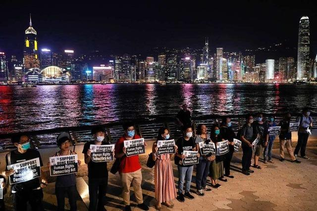 Offenburger unterstützt Proteste in Hongkong:
