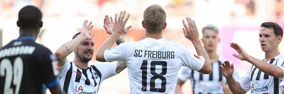 SC Freiburg ist nach dem 3:1 in Paderborn vorübergehend Tabellenzweiter