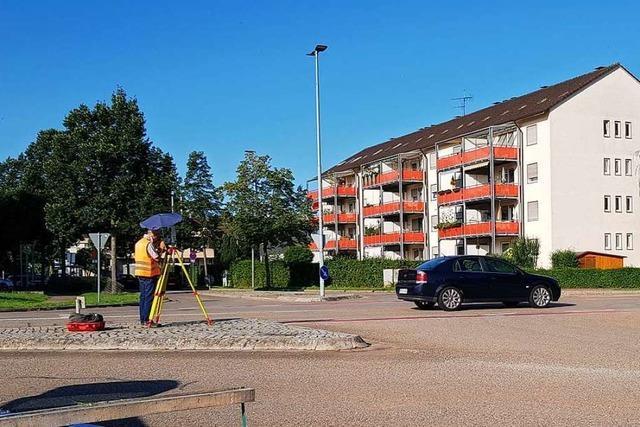 An dieser Kreuzung in Emmendingen werden Autofahrer bald im Stau stehen