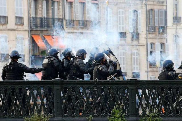 68 Festnahmen am Rande von G7-Gipfel in Biarritz