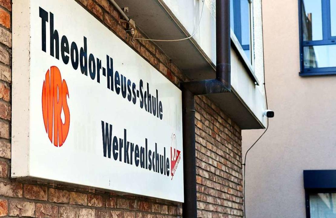 Die Theodor-Heuss-Schule bekommt eine Videoüberwachung (rechts).  | Foto: Wolfgang Künstle