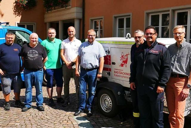 Bad Säckingen kauft Stromaggregat für den Notfall