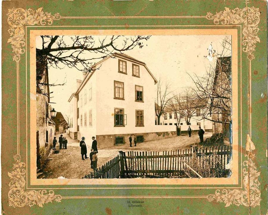 Eine historische Aufnahme zeigt das Ki... Tüllinger Höhe in seiner Gründerzeit.  | Foto: Tüllinger Höhe