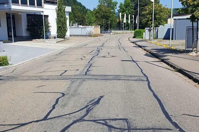 Die Eisenbahnstraße wird saniert − dafür werden Umleitungen und Parkverbote nötig