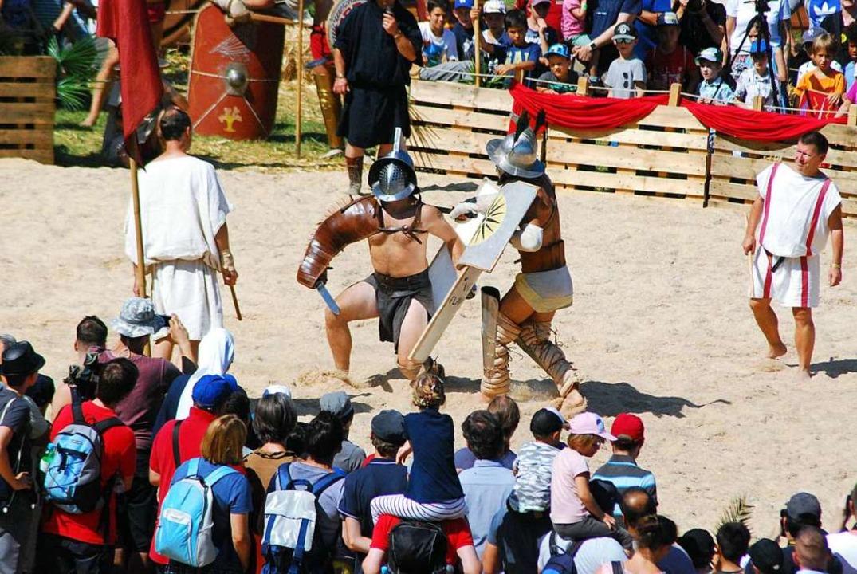 Und noch ein Gladiatorenkampf  | Foto: Thomas Loisl Mink