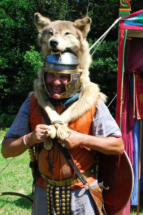 Ein Hauptmann der römischen Legion  | Foto: Thomas Loisl Mink