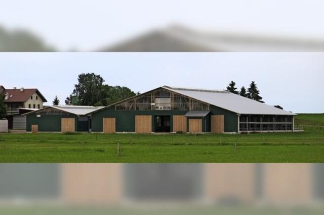 Der größte Hof hatte 36 Hektar
