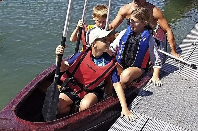 Mit den Hochrheinpaddlern auf dem Fluss unterwegs