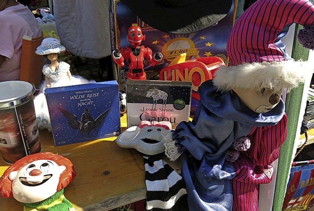 Der Spielzeugflohmarkt der Spielspirale bleibt attraktiv  | Foto: Georg Voß