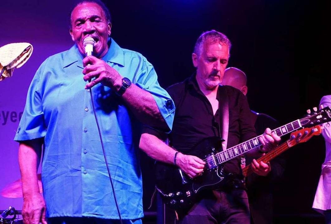 Mit Mississippi-Blues bestritten Ignaz...; Kilian den ersten Teil des Konzerts.  | Foto: Roswitha Frey