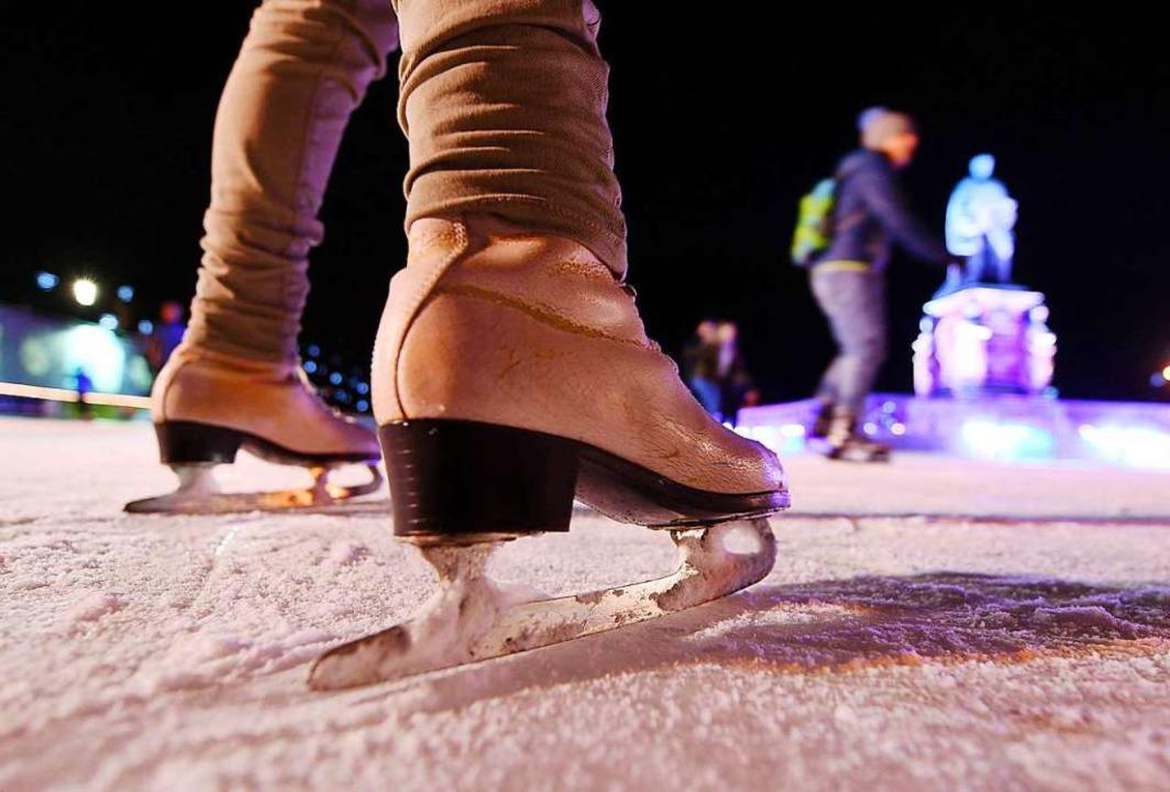 Unter anderem sollte es auf dem Weihna... Seepark eine große Eislaufbahn geben.  | Foto: Uli Deck