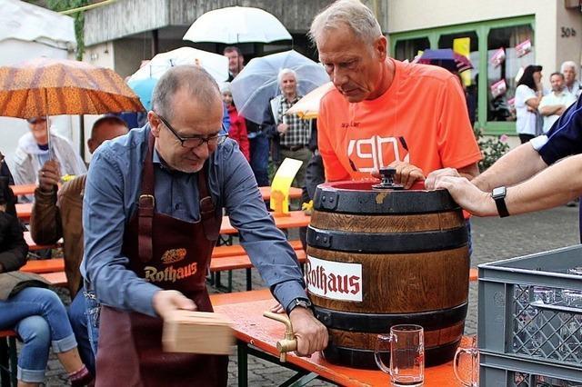 Rebland Fetzer und die IG Eimeldingen machen das Dorffest bunter