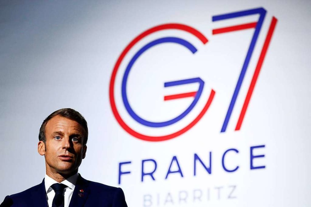 Frankreichs Präsident Emmanuel Macron  | Foto: IAN LANGSDON (AFP)