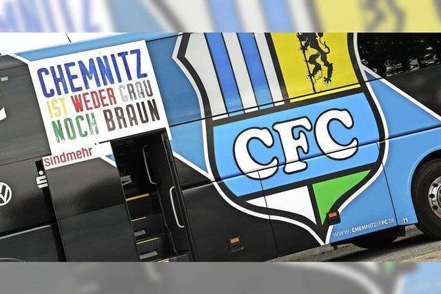 Rassistische Fans beim Chemnitzer FC