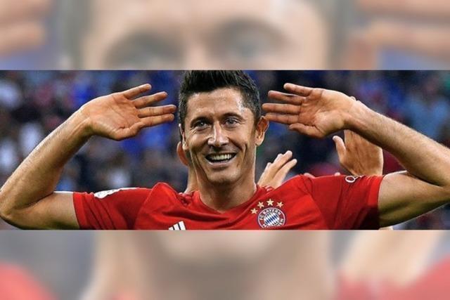 Alle verneigen sich vor Lewandowski