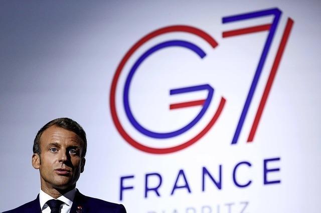 Macron lädt Iran zu Gipfel ein
