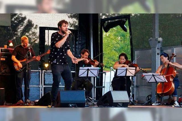 So war es beim Konzert von Otto Normal aus Freiburg im Seepark