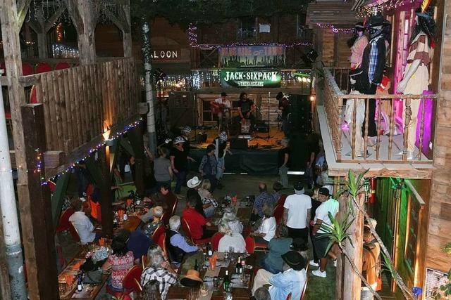 Erweiterung des Spassi-Freizeitparks wird mit Westernfest gefeiert