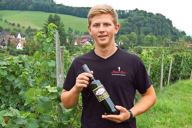 Dieser Glottertäler hat zum Abitur seinen eigenen Wein kreiert