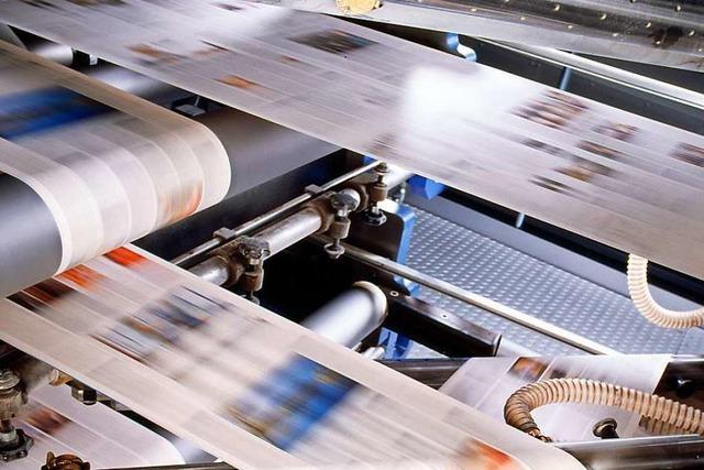 Erleben Sie, wie die Badische Zeitung hergestellt wird!