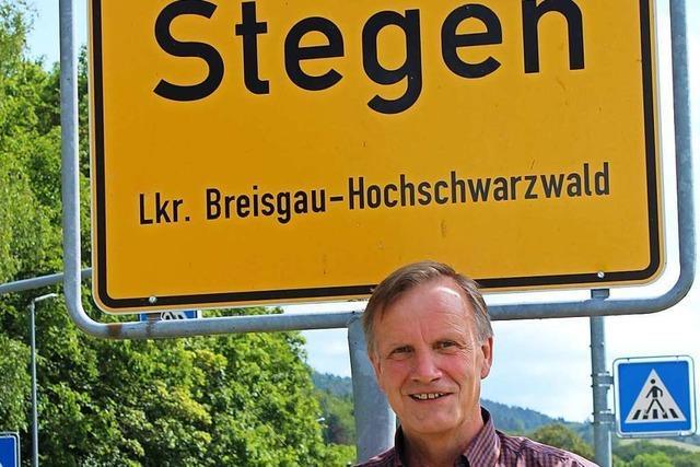 Peter Rombach blickt auf 30 Jahre Gemeinderatstätigkeit in Stegen zurück