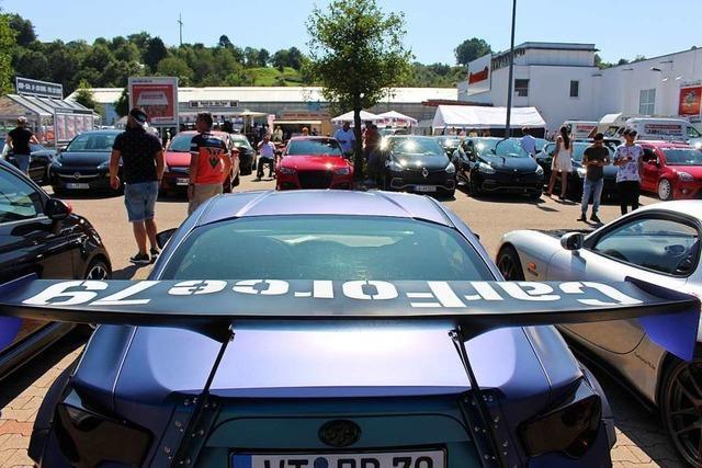 Mehr als 200 Tuner zeigen ihre Fahrzeuge in Schopfheim