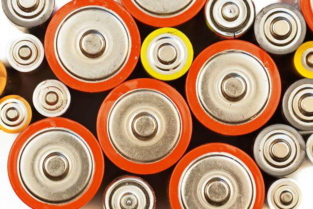 Batterien gibt es in vielen verschiedenen Größen.    Foto: Sinuswelle - stock.adobe.com