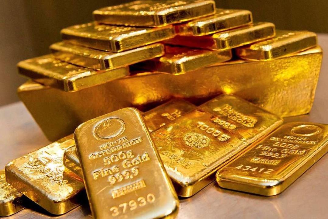 Gold ist unter anderem deshalb so wert...gibt und weil es sich nicht verändert.  | Foto: Sven Hoppe (dpa)