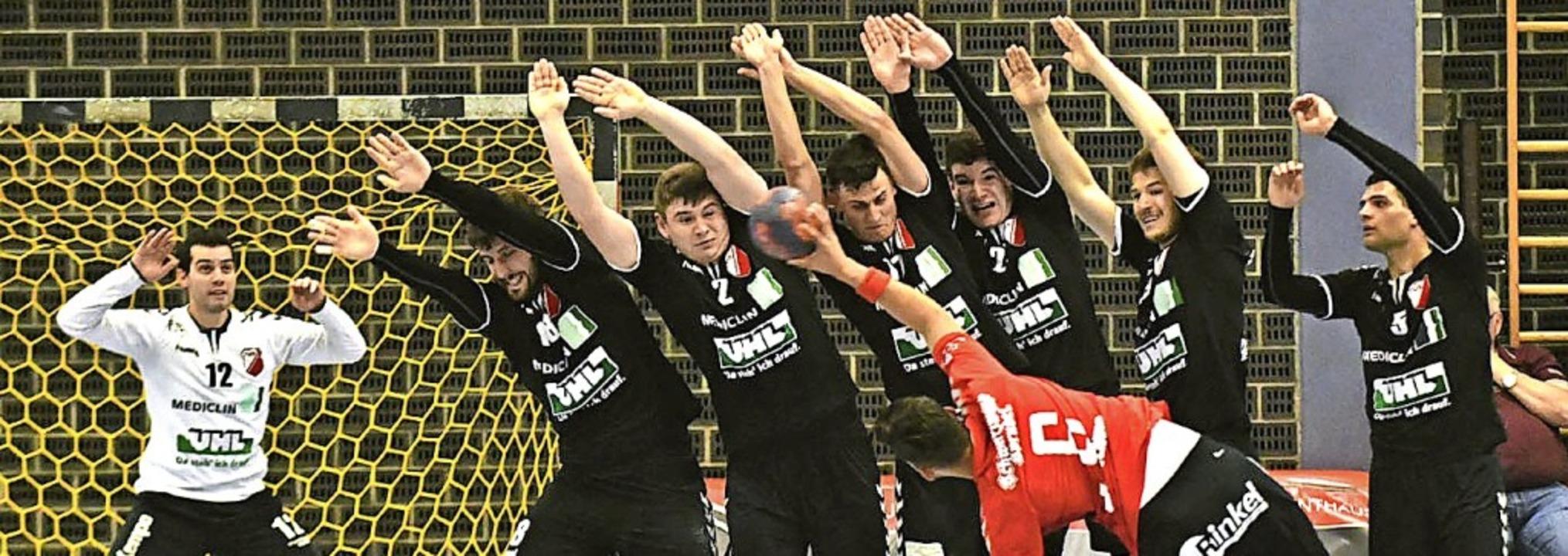 Die Defensive des TuS Schutterwald wir...der Oberliga gewaltig strecken müssen.    Foto: Wolfgang Künstle