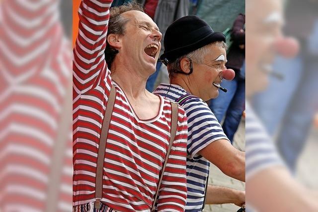 Kinderzirkus Kakerlaki mit den Clowns Beppo und Ferdinand