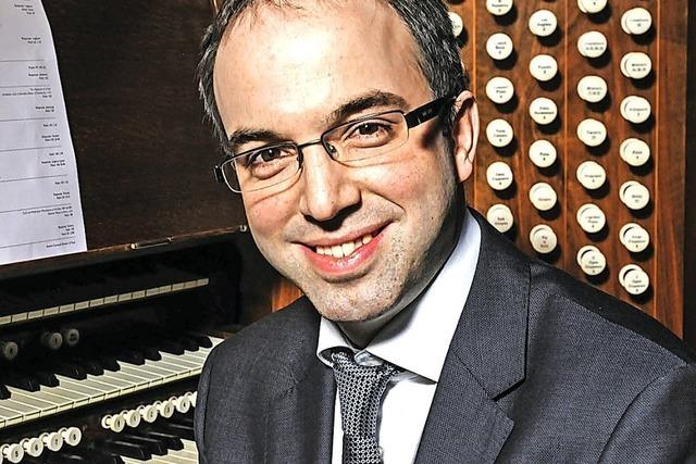 Simon Johnson, Organist in der St. Paul's Kathedrale in London, in St. Peter
