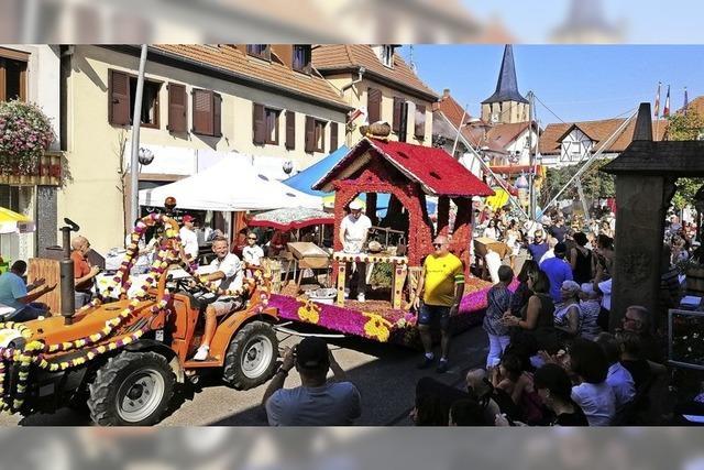 Bäckerwagen aus Oberweier in Dorlisheim