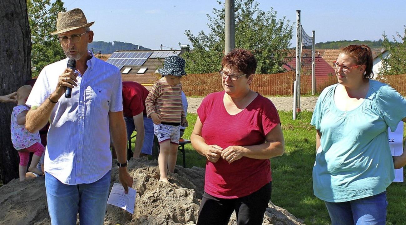 Der  Initiator der Familiensonntage, A...Förderverein des Kindergartens Minseln  | Foto: Rolf Reißmann