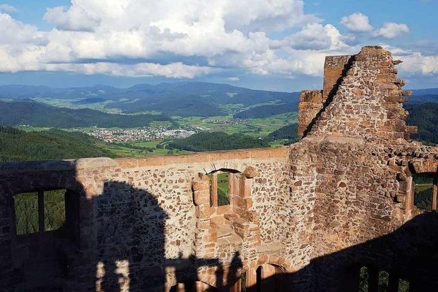 Am Sonntag steigt das Burgfest auf der Hohengeroldseck