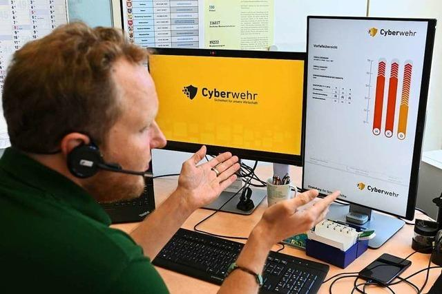 Immer mehr Firmen werden nach Hackerangriffen erpresst – die Cyberwehr hilft