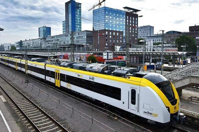 Auf der Höllentalbahn sind neue Züge im Einsatz – so finden das die Mitfahrer