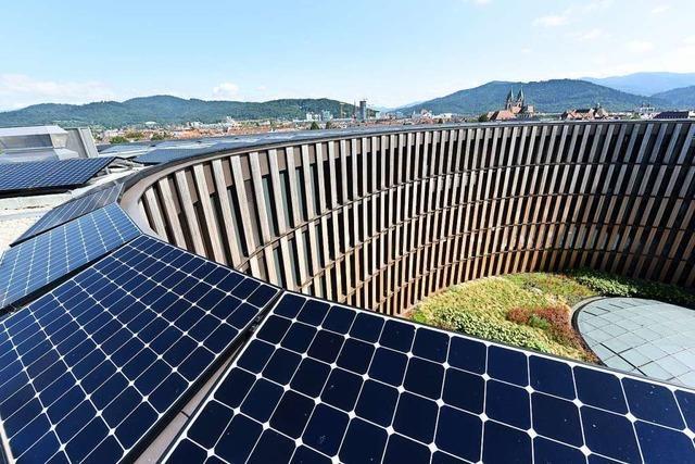 Das Energiekonzept des Stühlinger Rathauses übertrifft die Erwartungen