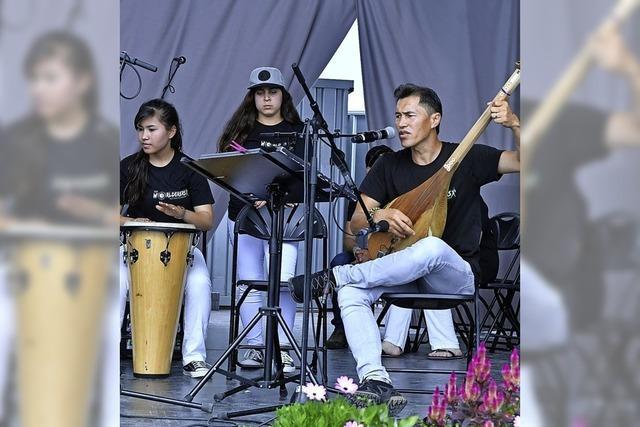 The Worlderers spielen beim Sommerfest des Freundeskreis Flüchtlinge